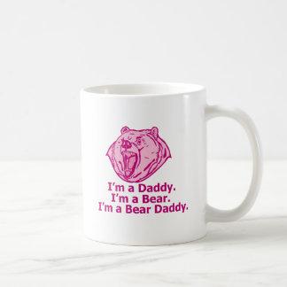 Papá del oso taza de café