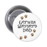 Papá del pastor alemán pin