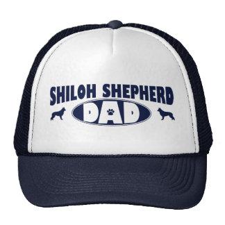 Papá del pastor de Shiloh Gorros Bordados