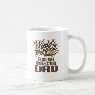 Papá del perro de aguas de saltador inglés (mundos taza de café