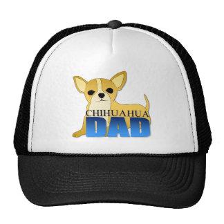 Papá del perro de la chihuahua gorras