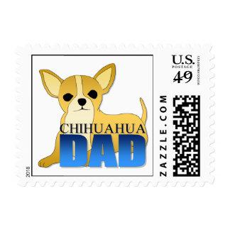 Papá del perro de la chihuahua sello