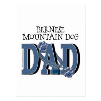 PAPÁ del perro de montaña de Bernese Postal