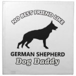 papá del perro de pastor alemán