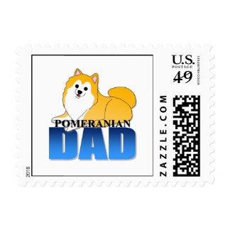 Papá del perro de Pomeranian Sello