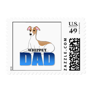 Papá del perro de Whippet Sellos