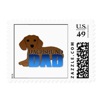 Papá del perro del Dachshund Sellos