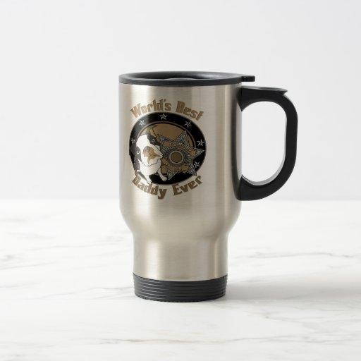 Papá del perro superior taza de café