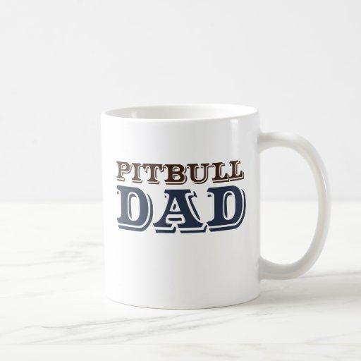 Papá del pitbull taza
