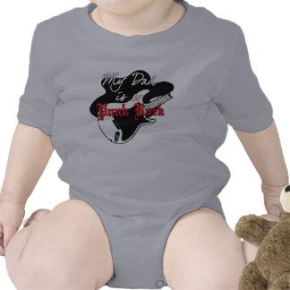 Papá del punk rock trajes de bebé