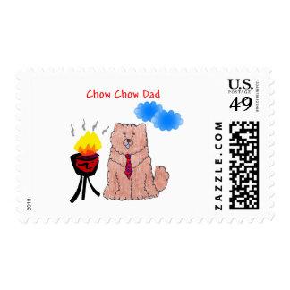 Papá del rojo del perro chino de perro chino envio