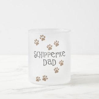 Papá del Schipperke Tazas De Café