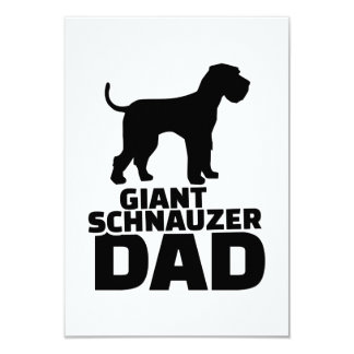 Papá del Schnauzer gigante