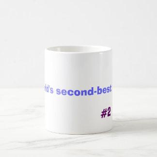Papá del segundo mejor del mundo, #2 taza de café