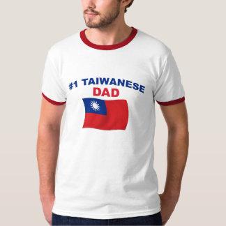 Papá del taiwanés #1 playera