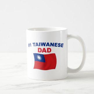 Papá del taiwanés #1 taza
