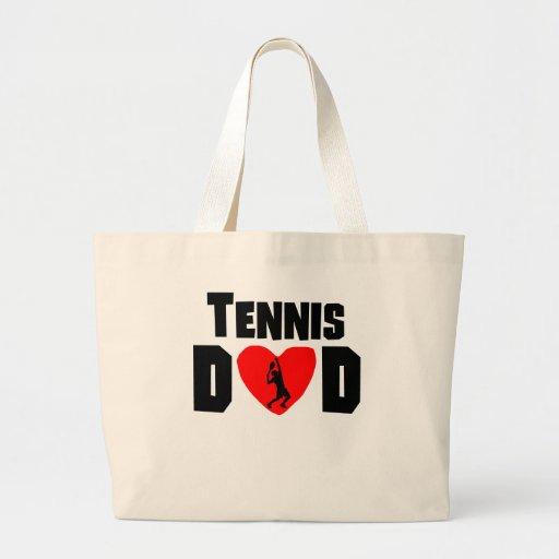 Papá del tenis bolsa