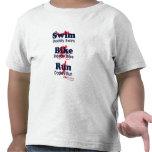 Papá del Triathlon Camiseta