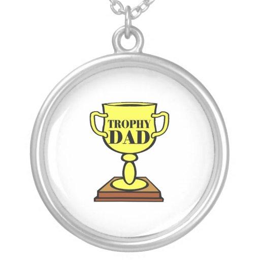 Papá del trofeo colgantes