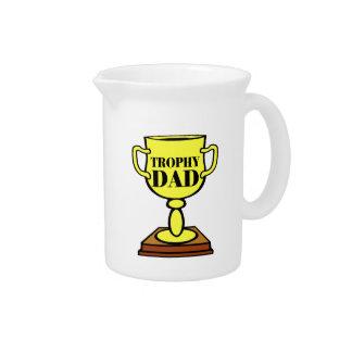 Papá del trofeo jarra
