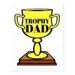 Papá del trofeo tarjetas postales