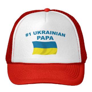 Papá del ucraniano #1 gorro de camionero