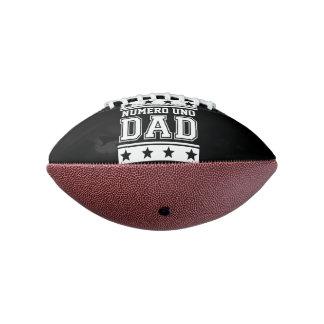 Papá del Uno de Numero Balón De Fútbol Americano
