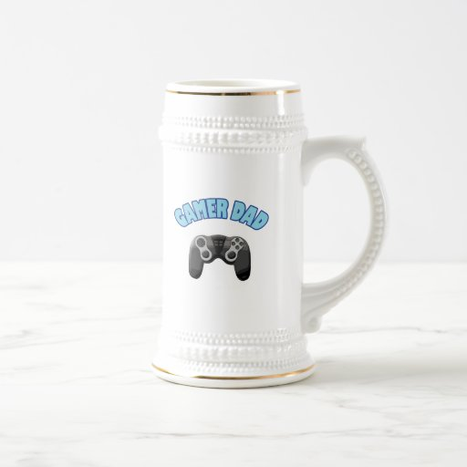Papá del videojugador - regulador taza de café
