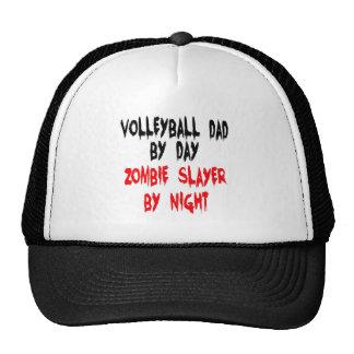 Papá del voleibol del asesino del zombi gorras