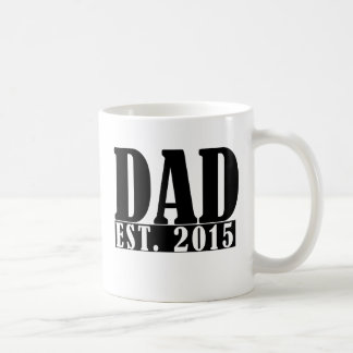Papá desde 2015 taza clásica
