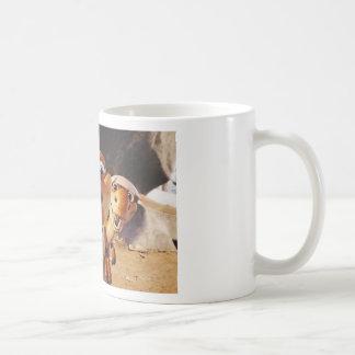 PAPA DINO CLASSIC WHITE COFFEE MUG