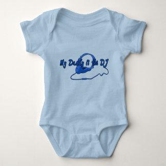 Papá DJ para los muchachos Body Para Bebé