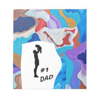 Papá dominante #1 bloc de notas