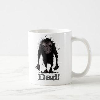 ¡Papá! Duende divertido del monstruo del día de Taza