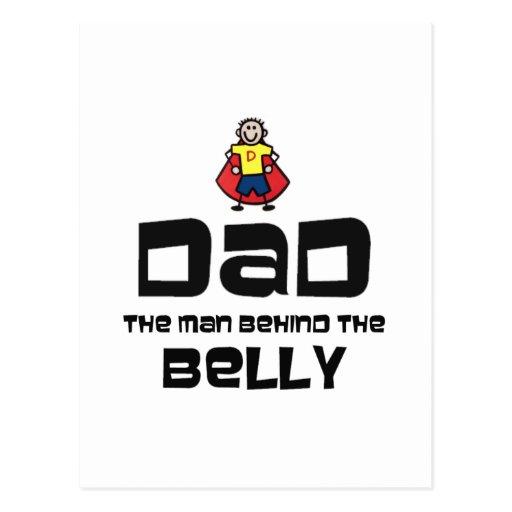 Papá, el hombre detrás del Belly Tarjetas Postales