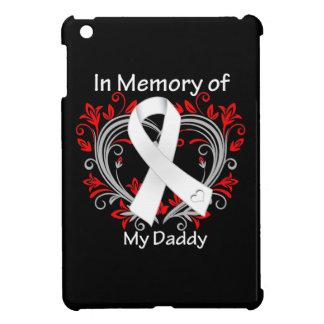 Papá - en corazón del cáncer de pulmón de la memor