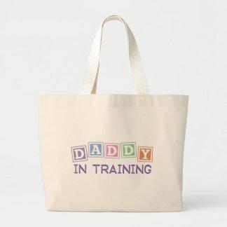 Papá en el entrenamiento bolsas de mano