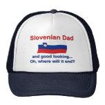 Papá esloveno apuesto gorro