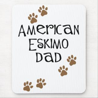 Papá esquimal americano alfombrilla de ratones