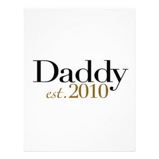 Papá Est 2010 Plantilla De Membrete