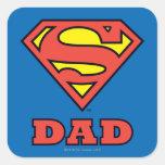 Papá estupendo colcomania cuadrada