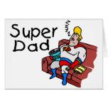 Papá estupendo (el dormir) felicitacion