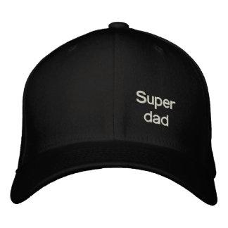 Papá estupendo gorra de béisbol bordada