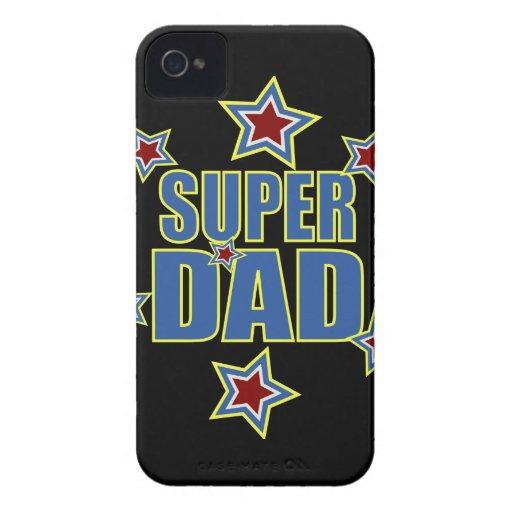 Papá estupendo iPhone 4 Case-Mate protector