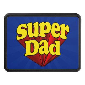 Papá estupendo, super héroe rojo/amarillo/el día tapas de remolque