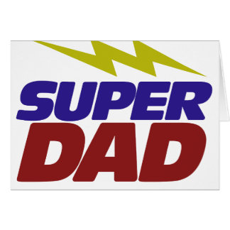 Papá estupendo felicitación