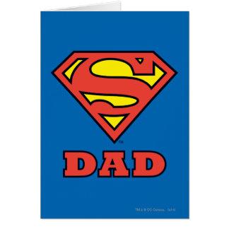 Papá estupendo tarjeta de felicitación