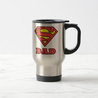 Papá estupendo taza de viaje de acero inoxidable