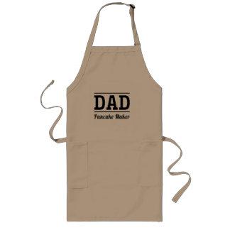 Papá. Fabricante de la crepe Delantal Largo