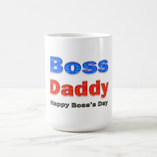 Papá feliz de Boss del día de Boss Taza De Café